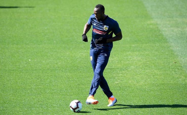 Usain Bolt, a prueba con un equipo de fútbol en Australia