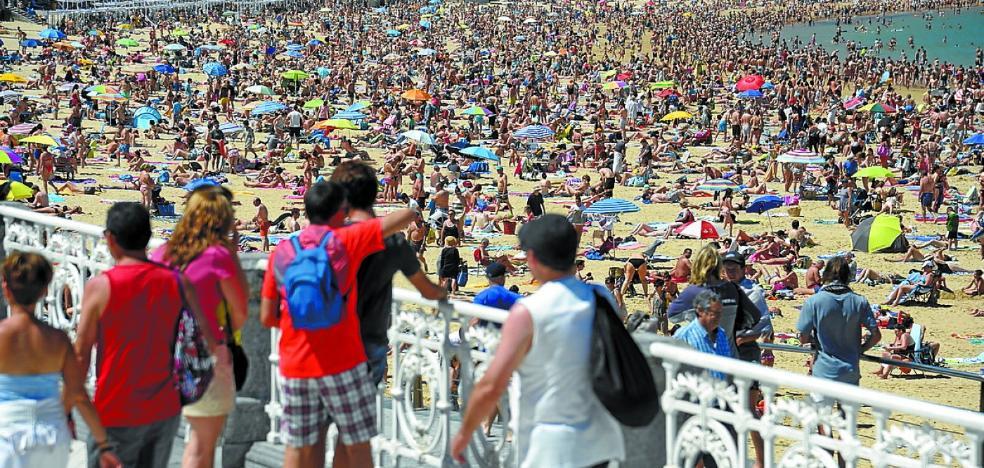 El turismo es ya el primer motor económico en San Sebastián