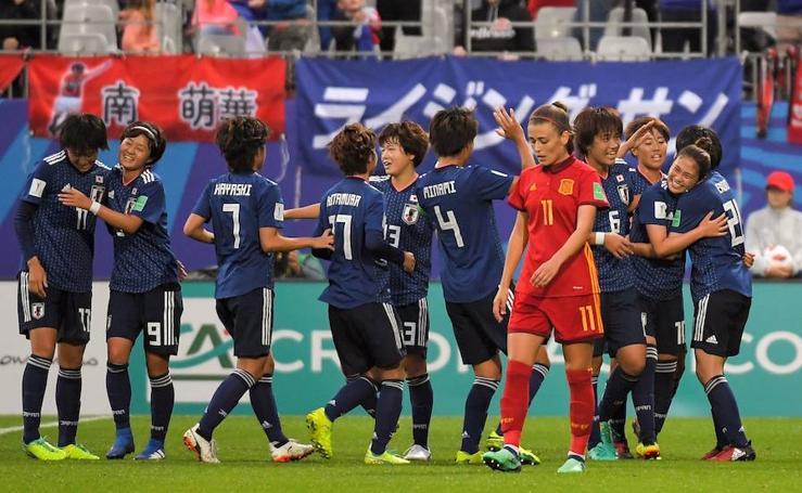 Las mejores imágenes del España-Japón