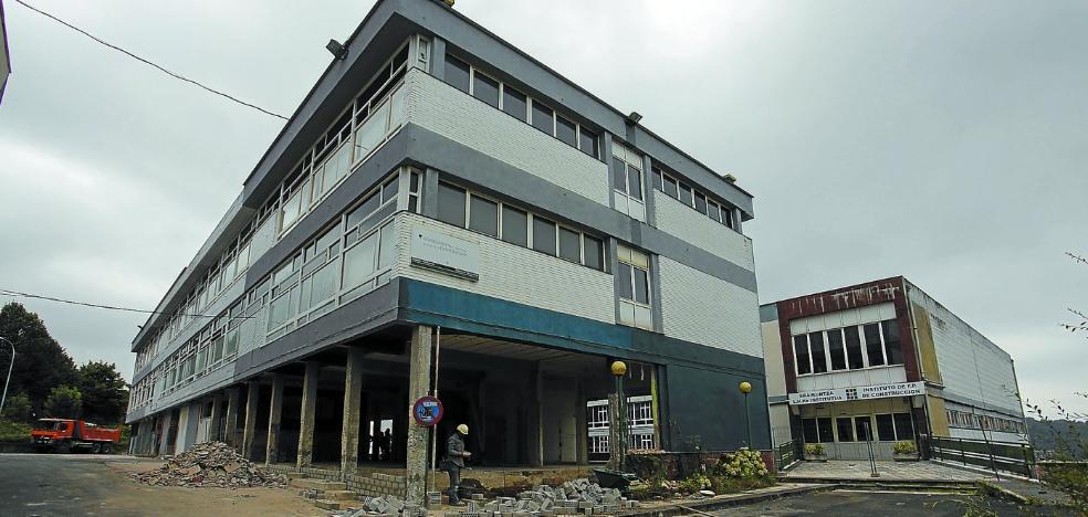 El ayuntamiento de Donostia anuncia la fecha para la apertura del polideportivo provisional de Altza