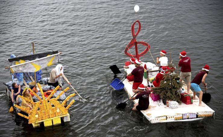 Embarcaciones de cartón
