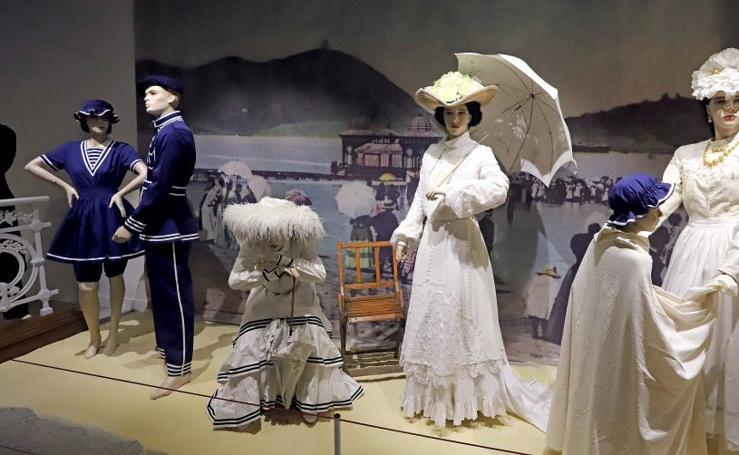 La Belle époque vuelve al Museo del traje en Errenteria