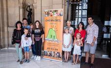 Los 192 niños de Chernobil vuelven a casa tras un verano sin radiación