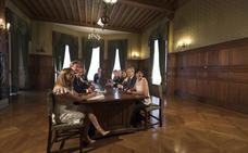 Urkullu busca ensanchar el consenso para que el nuevo estatus sea viable en Madrid