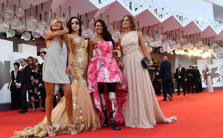 Las estrellas del festival de cine de Venecia