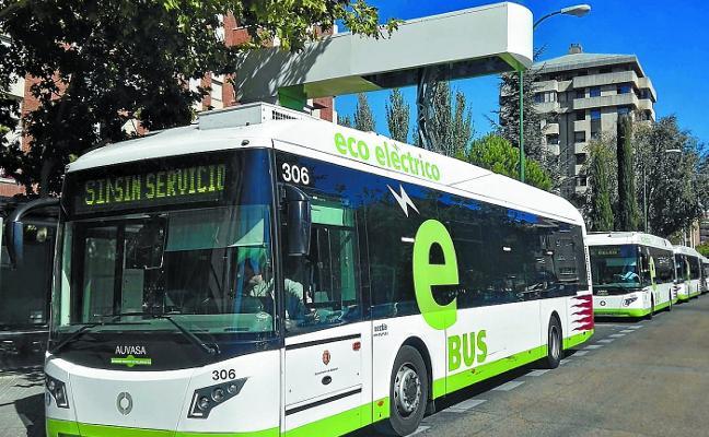 Dbus testará en el distrito Este un nuevo autobús híbrido de 12 metros