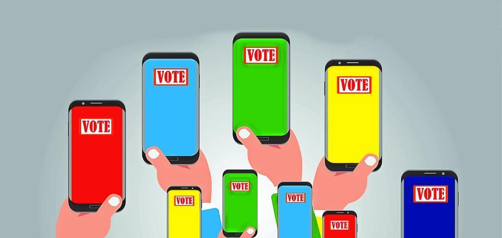 Las redes sociales, también 'máquinas' para captar votos