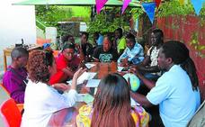Una gran familia para los migrantes