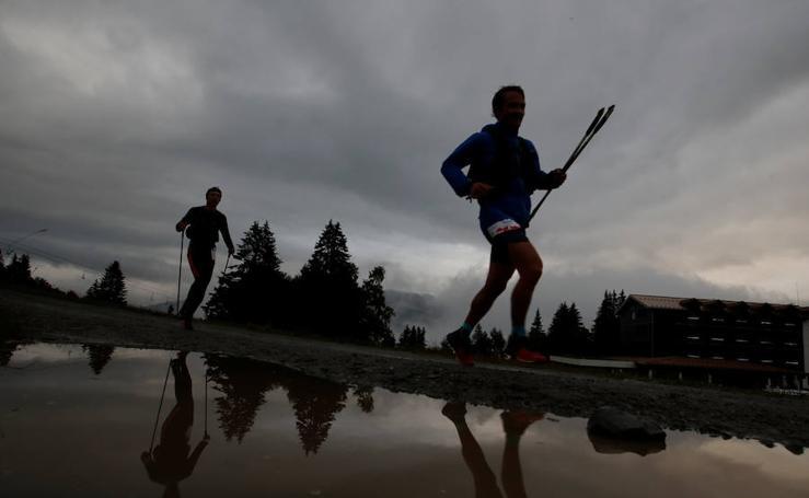 El duro ultra trail del Mont Blanc