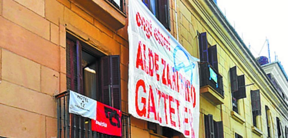 El Ayuntamiento no permitirá que se consolide el gaztetxe de Campanario