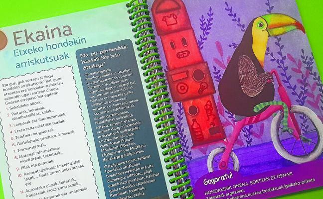Agenda escolar a favor del reciclaje