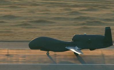 Un avión no tripulado de EE UU se estrella en aguas próximas a Cádiz