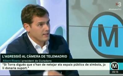 Rivera acusa a TV3 de hacer «propaganda separatista» en una entrevista en 'Els Matins'