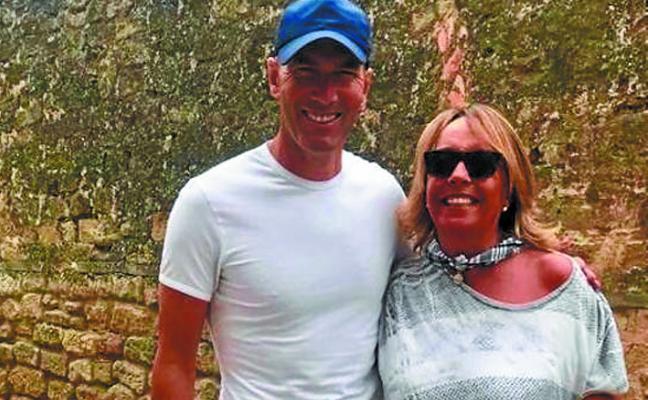 Zidane se pasea por de Elciego