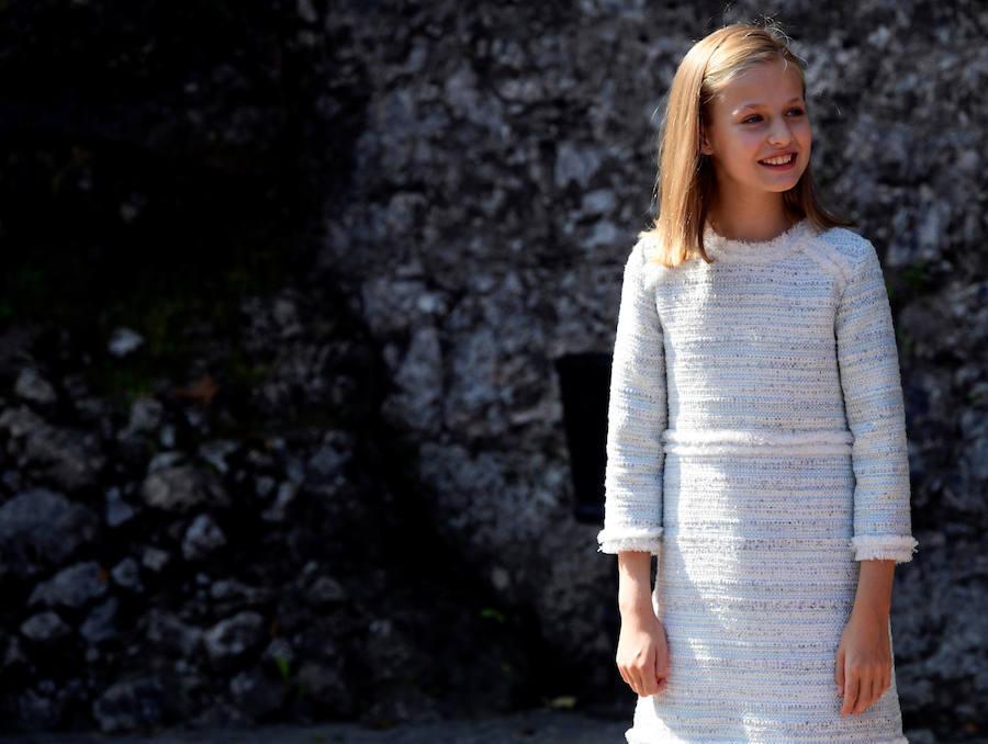 Leonor debuta como Princesa de Asturias