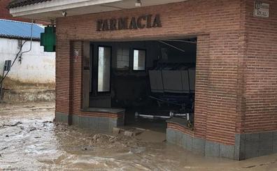 Setenta viviendas inundadas y 30 vehículos dañados por la riada de Cebolla