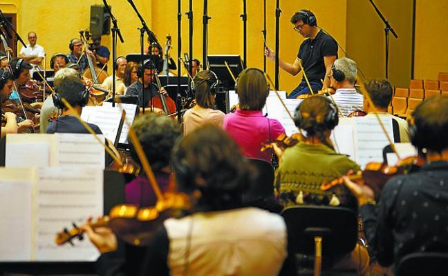 La OSE pone música a la película de animación que relatará la vuelta al mundo de Elcano