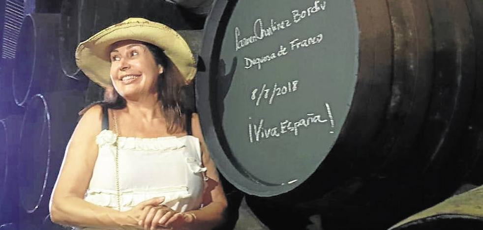 La nieta de Franco, condenada a pagar medio millón por 'engañar' al fisco