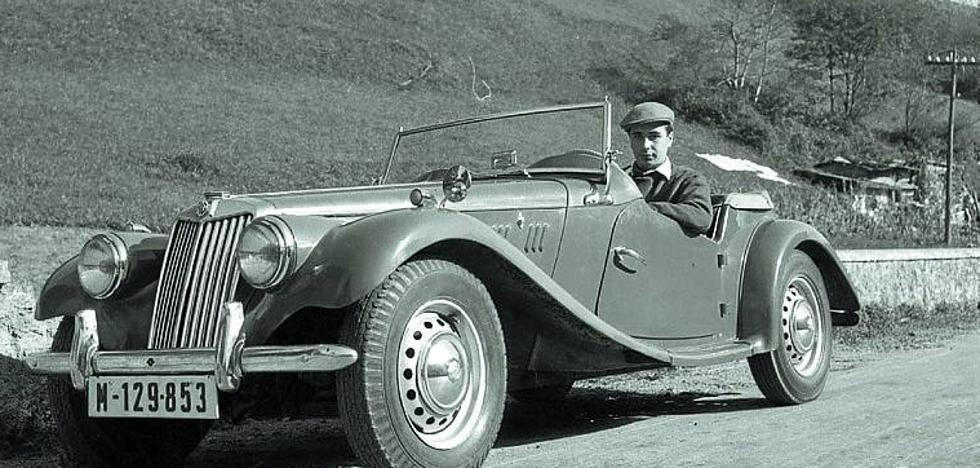 Merle Oberon, jurado de Elegancia del Automóvil y de la Mujer