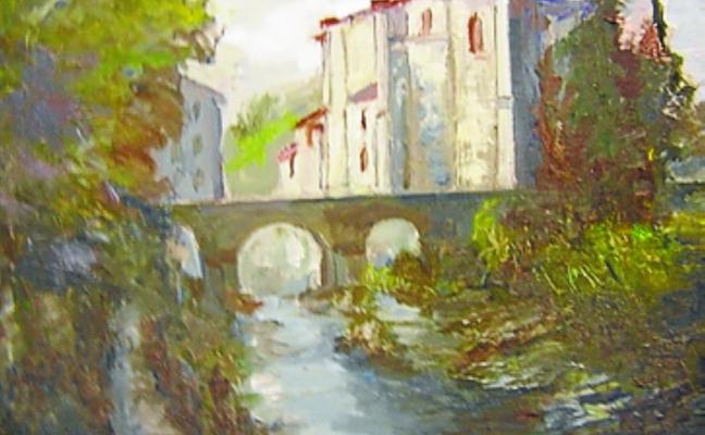 Exposición de pintura de Xabier Larrañaga en Nahikari