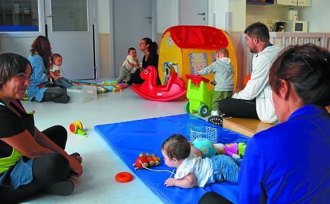 La Haurreskola vuelve a abrir sus puertas para acoger a cuatro niños