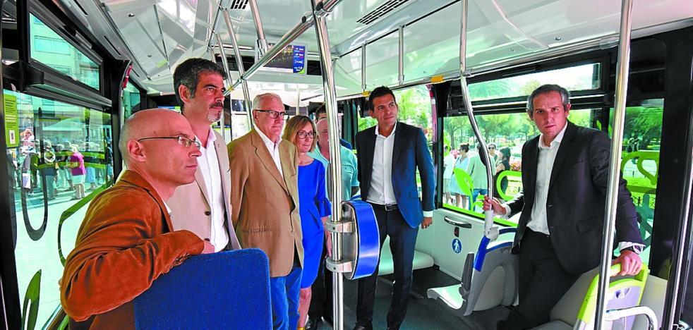 El autobús híbrido eléctrico de Vectia se testará durante seis meses en las líneas 9, 13 y 14