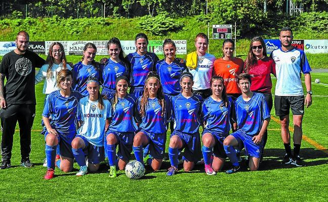 El equipo femenino del Euskalduna reinó en el Torneo Larramendi