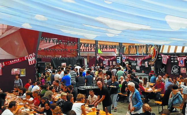 Hoy se abre en el parque de Maala la carpa de la SanloBeer Festa