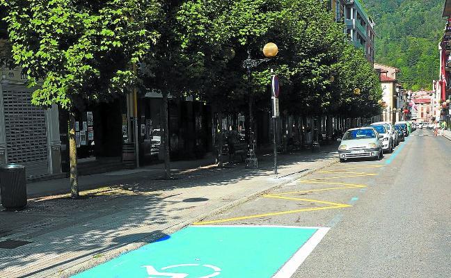 El estacionamiento se limitará a una hora como máximo en la zona céntrica