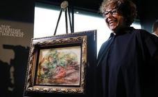 Un Renoir robado por los nazis es devuelto a la nieta de su propietario