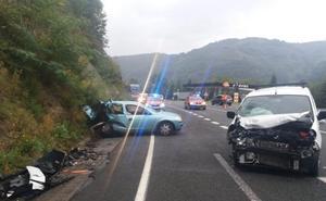 Una profesora de Ataun fallece en un accidente cuando se dirigía a Doneztebe
