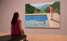 Un cuadro de Hockney puede convertirse en la pieza más cara de un artista vivo