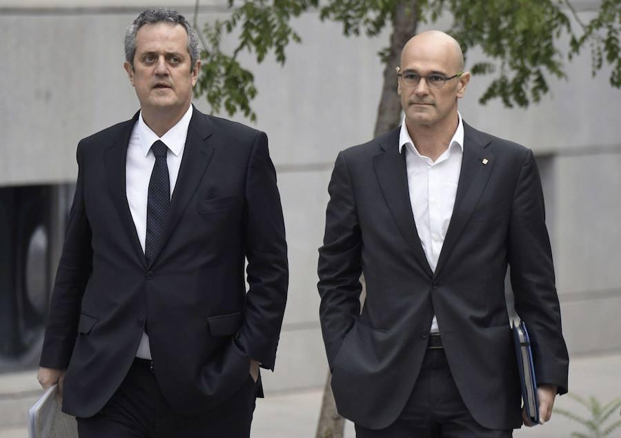 El Supremo deniega de nuevo la libertad a Forn por riesgo de fuga y reiteración