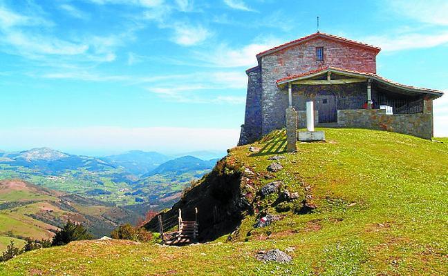 De Gernika a Gernika por montaña