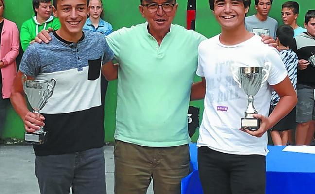 Jara y Etxarri logran el subcampeonato del torneo de Euskal Jaiak de Donostia