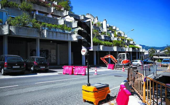 Un barrio de Donostia, sin calefacción