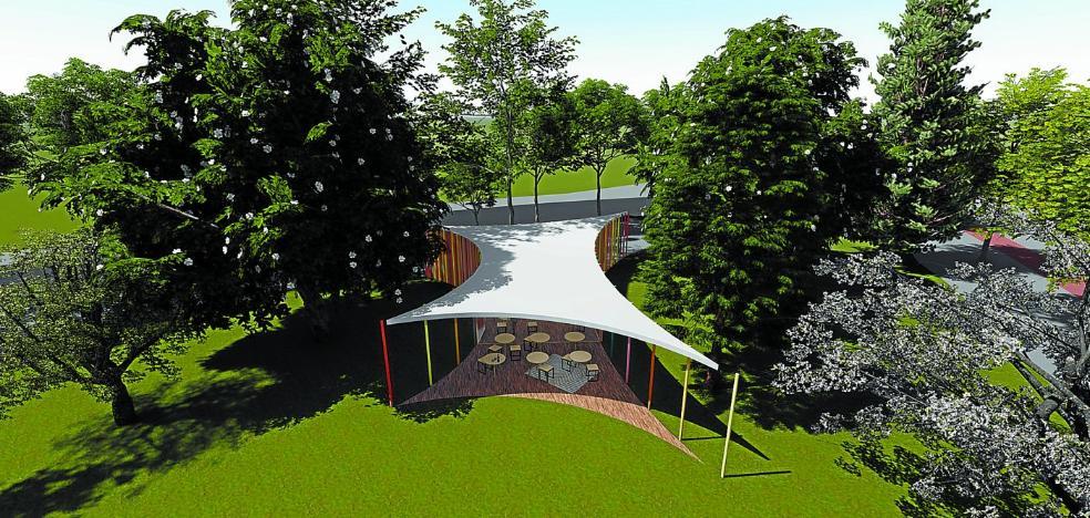 Un nuevo jardín para Amara