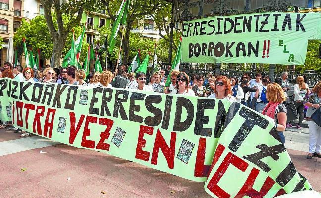 Las patronales de residencias, a favor de explorar un pacto que frene la huelga
