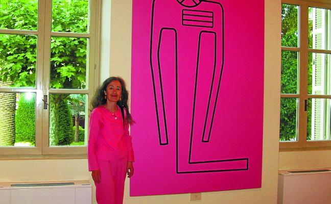 Visita guiada esta tarde con Ana Román a su exposición de Sanz Enea