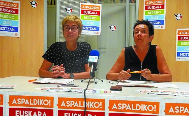«Guretzat garrantzitsuena euskara ikastea eta erabiltzea da, ez azterketak»