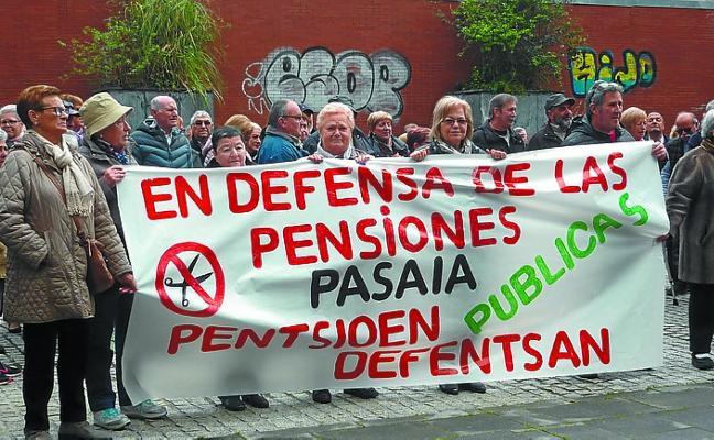 Los jubilados volverán a manifestarse a partir del lunes