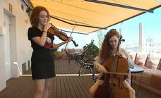Las hermanas violinistas que triunfan en internet