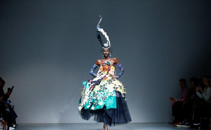 Color, excentricismo y moda