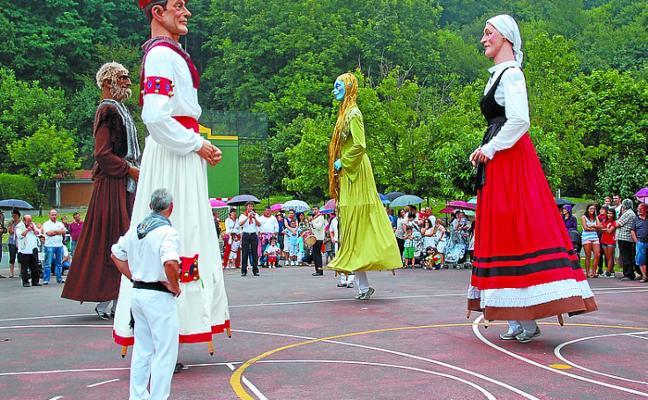 Elbete y el barrio beratarra de Illekueta celebran sus fiestas