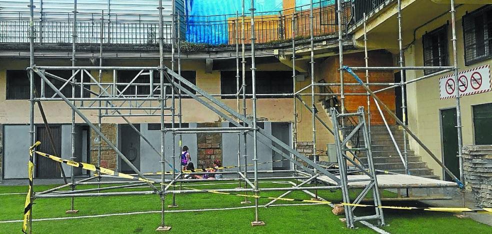 Summa Aldapeta reubicará el lunes a 250 alumnos en el antiguo edificio de Marianistas