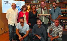 Pascal Gaigne recibe el premio Sade y el aplauso del cine vasco