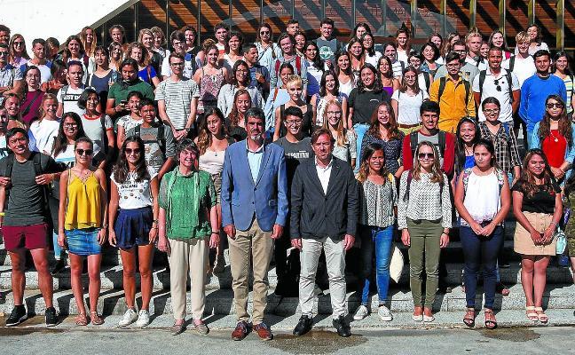 Bienvenida a los alumnos extranjeros de la UPV
