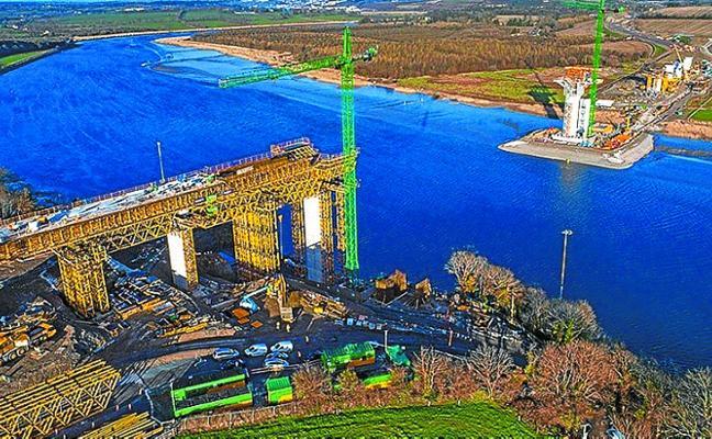 El puente extradosado más largo del mundo, el New Ross (Irlanda) tendrá sello oñatiarra