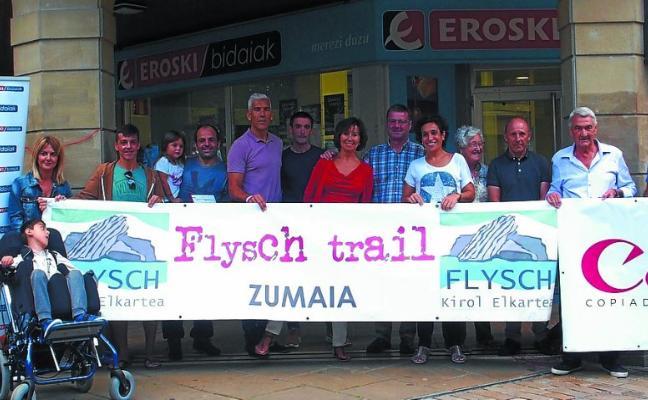 Zumaia Flysch Trail entregó los premios del sorteo