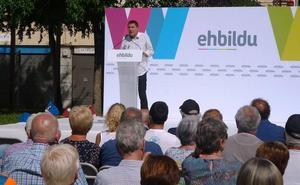 Otegi apuesta por poner «la segunda mayoría democrática» por delante «del viejo régimen»